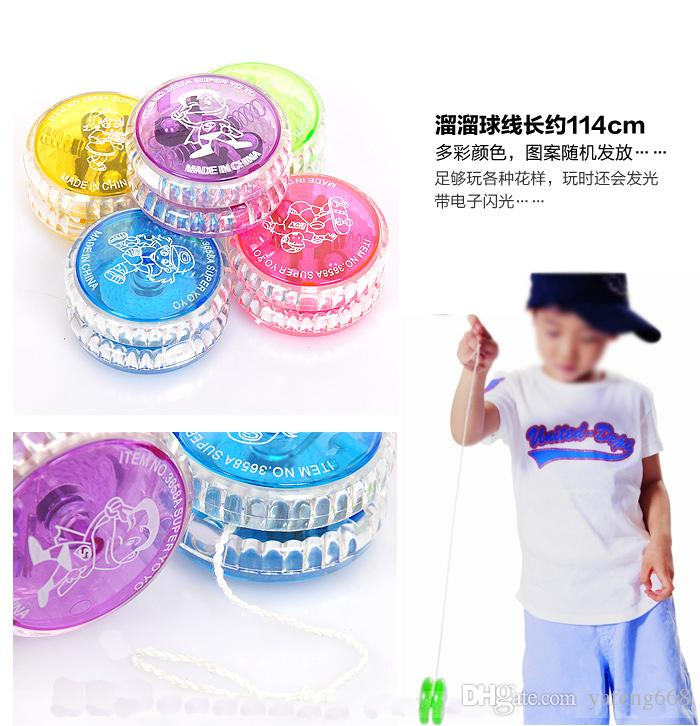 Kindergarten New Year gifts glitter ball yo-yo fat naked youyou balls wholesale children's educational toys