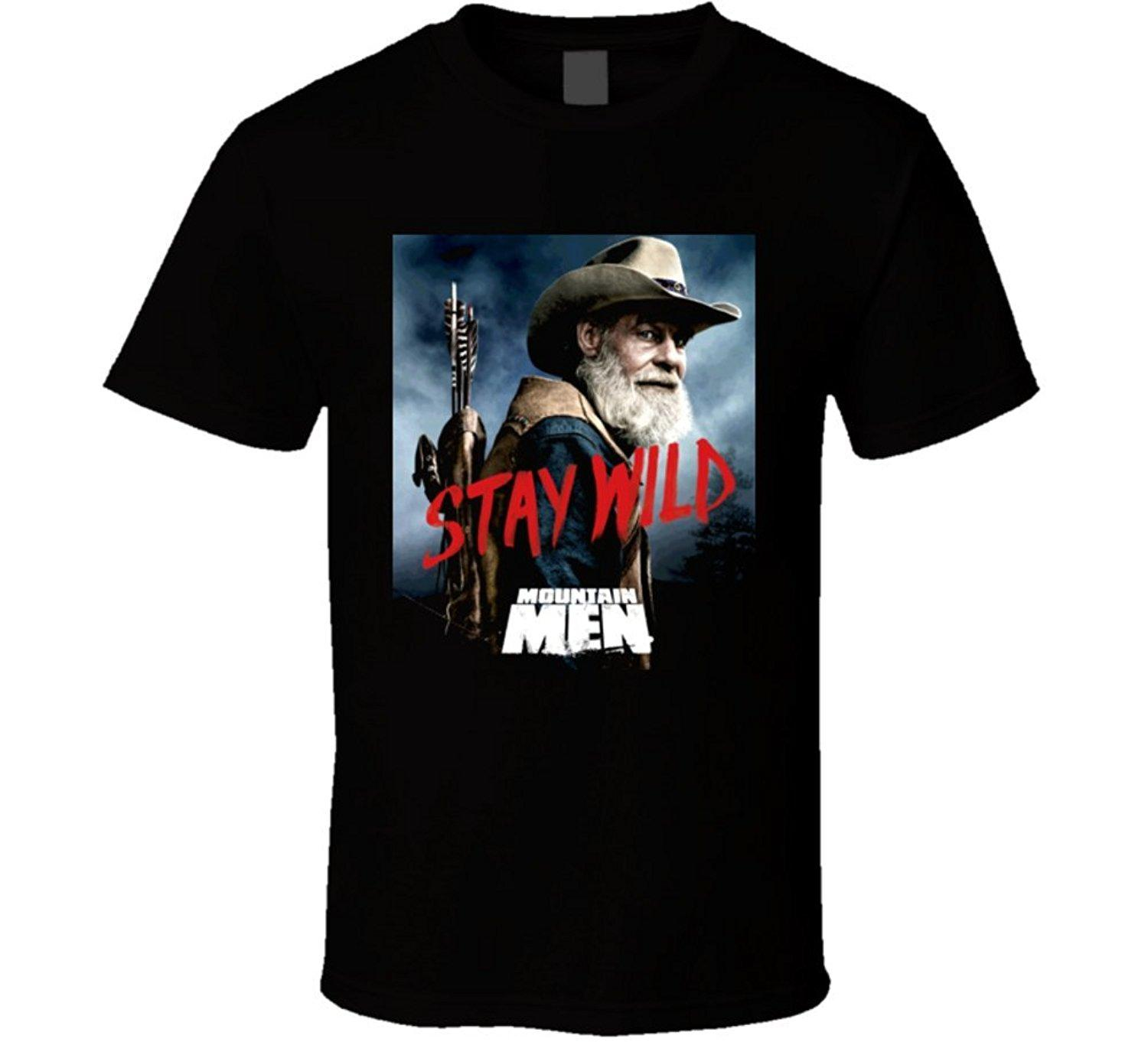 68c29dcbab27 Mountain Men Tom Stay Wild Nature History Tv Show T Shirt Online with   13.15 Piece on Beidhgate05 s Store