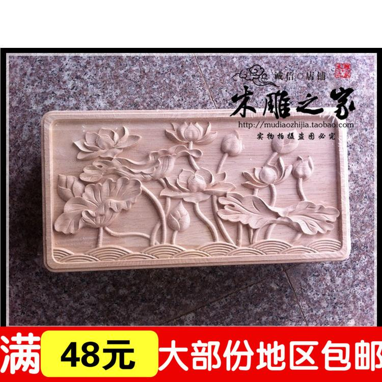 Dongyang Woodcarving Lotus Pond Chinese Antique Furniture Cabinet Decals  Rectangular Box Floral Flower Home Decorator Home Decore From Zhoudan5249,  ... - Dongyang Woodcarving Lotus Pond Chinese Antique Furniture Cabinet