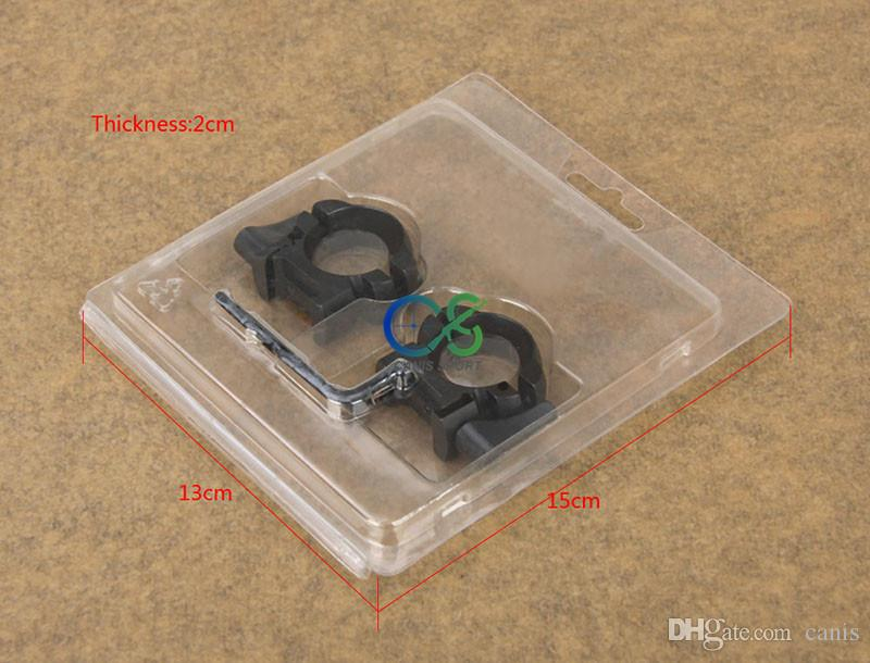 New Arrival Accessory Black Color Scope Mount QD 25.4mm For Scope Use Center Height 17.2mm CL24-0159
