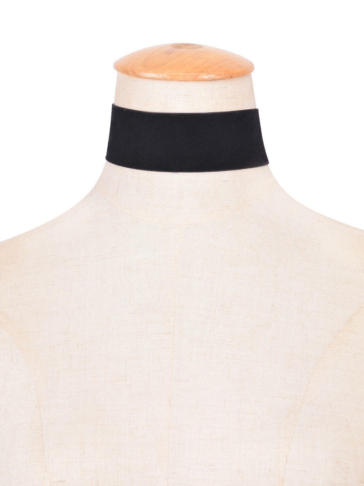 2016 donne punk black velvet choker collana vintage gotico grande velluto collana di gioielli fatti a mano collana di nastro le donne di nuovo modo