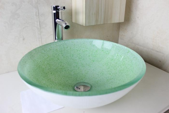 badezimmer waschbecken glas. Black Bedroom Furniture Sets. Home Design Ideas