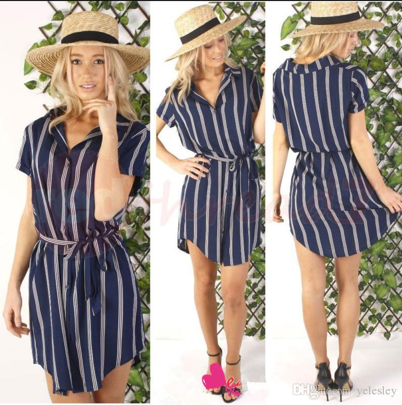 Emale Professional Style Sleeveless Summer Dress Slim Free Belt ...