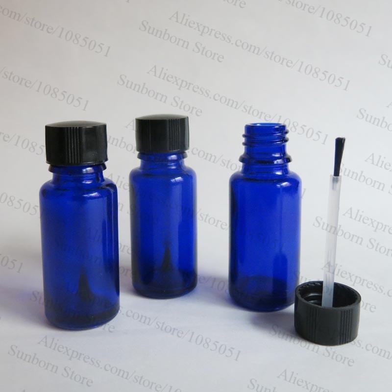 Compre 15ml Azul De Uñas Botella De Esmalte, 15 Cc De Cobalto ...