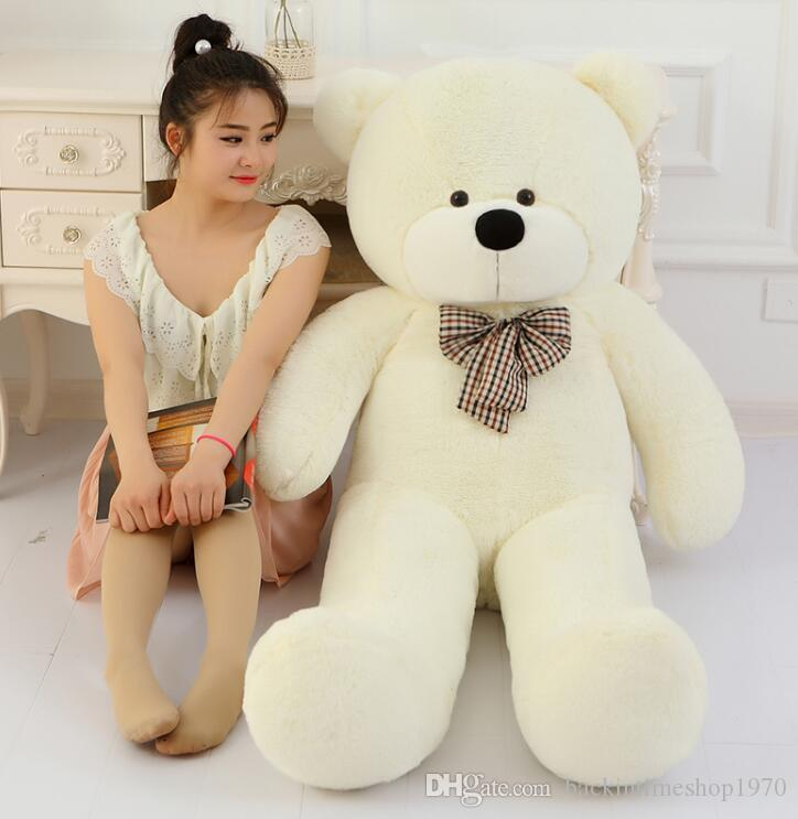 Gran venta grande oso de peluche gigante grande peluche juguetes animales de peluche niño niños muñecas del bebé amante de juguete regalo de san valentín para las niñas