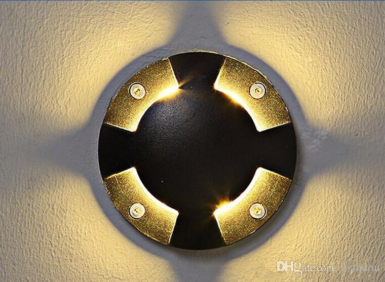 Heißer Verkauf 6W warmes kaltes weißes geführtes Bodenlicht im Freien, das Boden führte, führte untertages Licht IP68 imprägniern geführte Landschaftslampe AC85-265V / DC12V