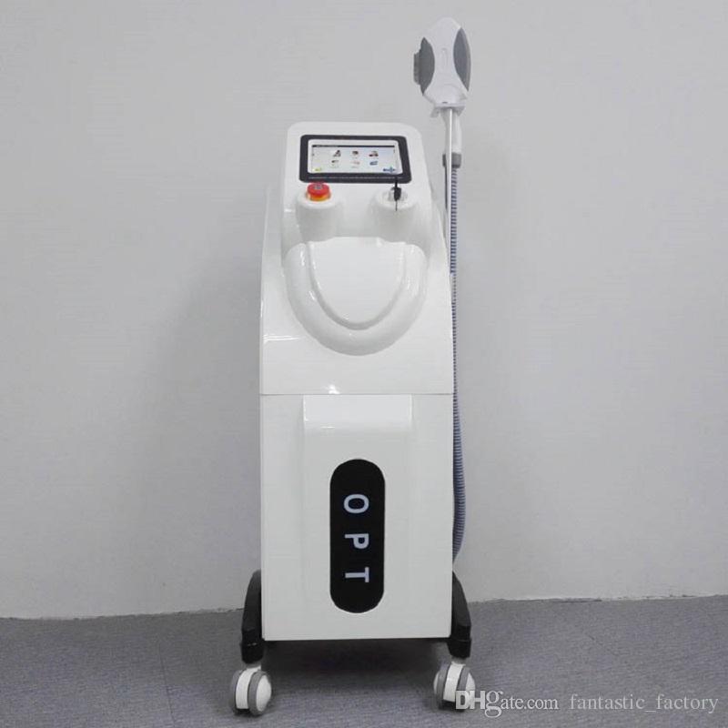 Frete Grátis Optimal Pulsado Tecnologia OPTAO SHR Remoção Permanente Do Cabelo Elight OPT IPL SHR Pigmento Acne Terapia Máquina de Rejuvenescimento Da Pele