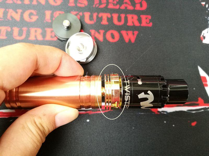 Dissipatore di calore v2.0 aggiornamento Dissipatore di calore dissipatore di calore protezione decorativa bellezza anello 510 adattatore connettore i vape rda ecig
