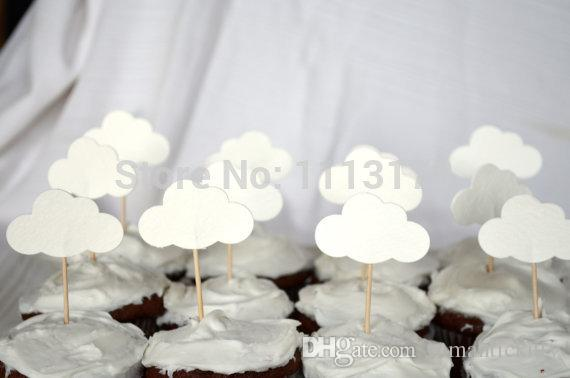 Cheap cloud cupcake toppers picks wedding cupcake topper birthday cheap cloud cupcake toppers picks wedding cupcake topper birthday cupcake toothpicks themed birthday parties themed birthday party from romantickitty junglespirit Images