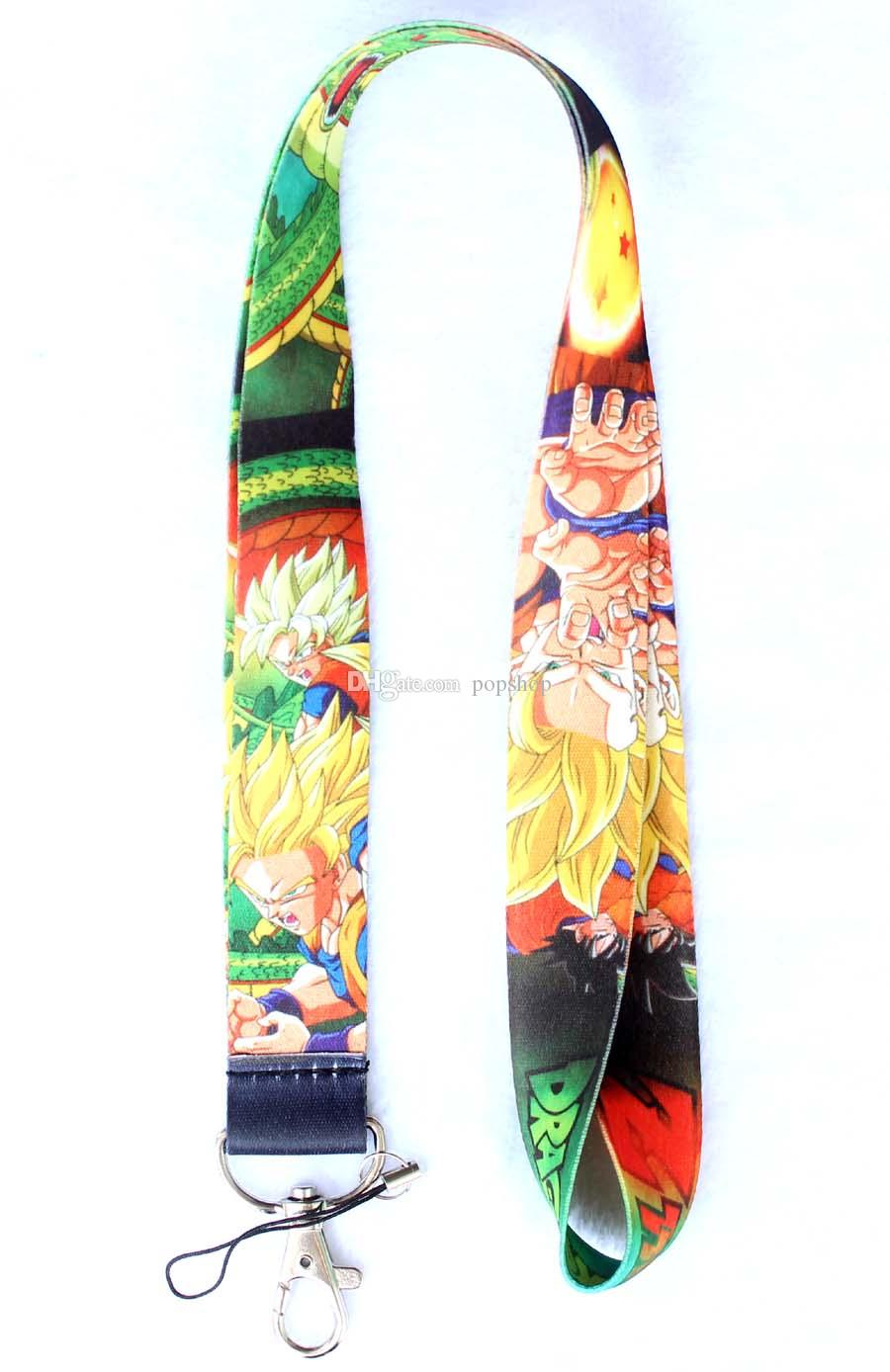 NEW of New Design Style Dragon Ball Fashion phone mp3/4 bags Neck Straps Lanyard phone lanyard
