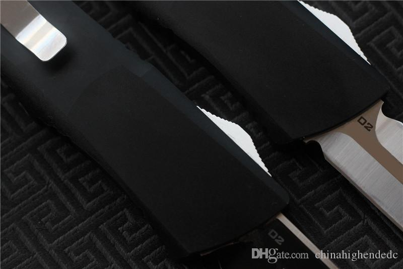 Freies Verschiffen Qualitäts-MIKER-Messer-Blatt: Griff D2: Aluminium CNC-Ende kampierende Jagdmesser EDC-Werkzeuge
