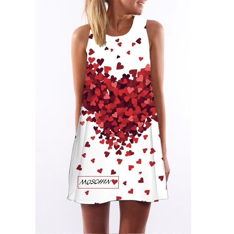Summer Peach or White Dresses for Juniors