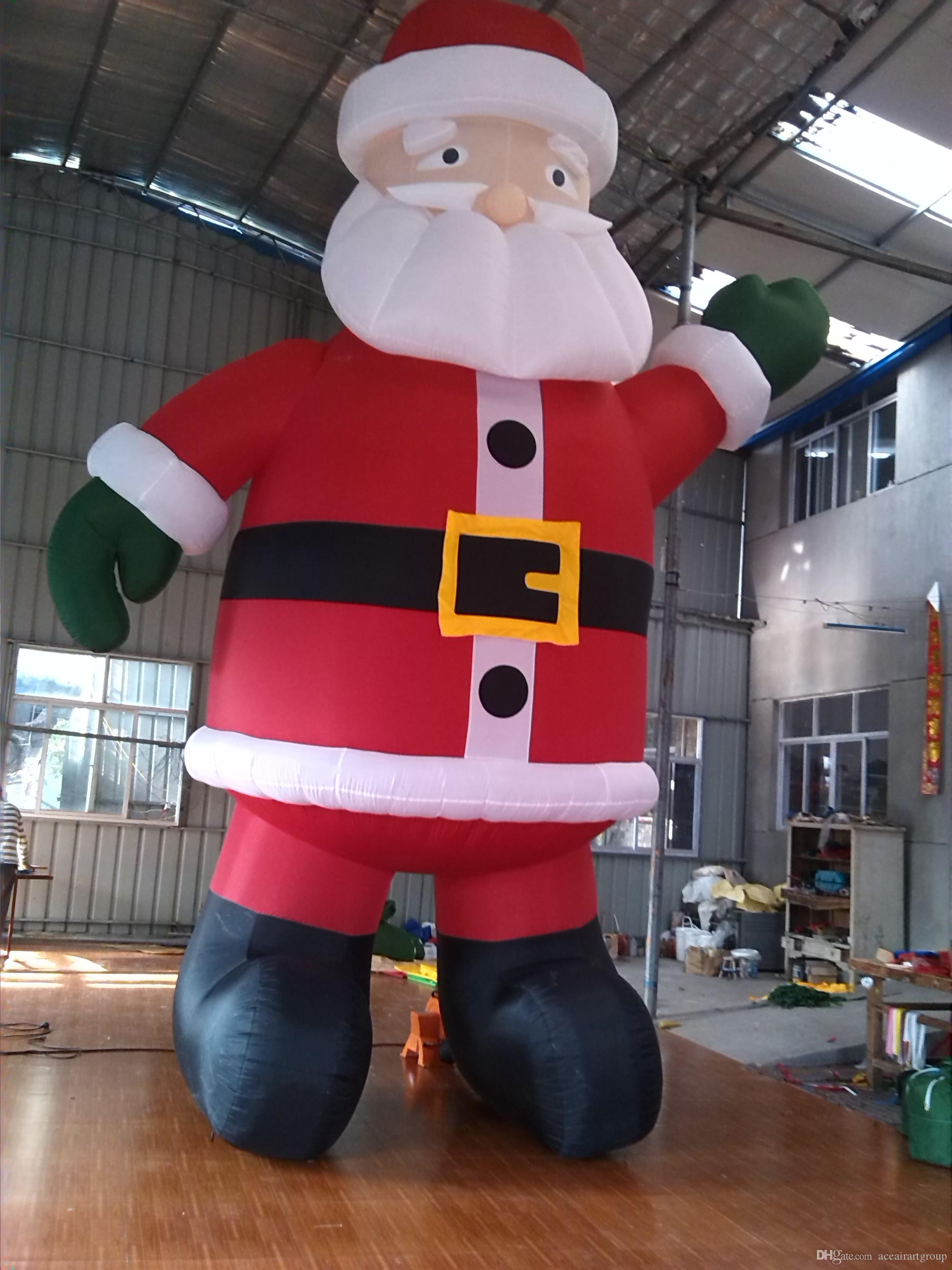 2018 giant 6mh inflatable celebration decoration inflatable santa claus for advertising with fee air blower from aceairartgroup 43217 dhgatecom