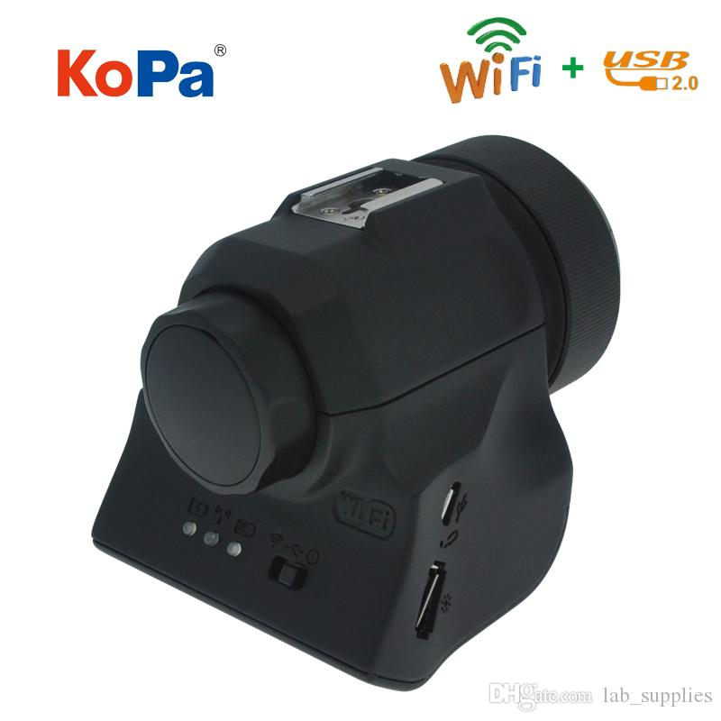 5 0MP USB WIFI CMOS Digital Electronic Eyepiece Camera with Adapter for  Spotting Scope Microscope Astronomical Telescope