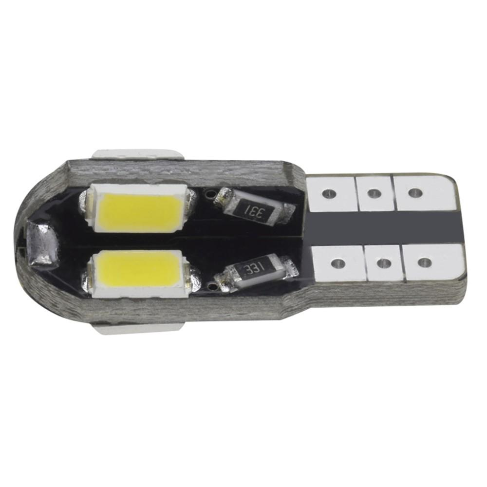 T10 2W 8 SMD LED Cool White/Warm white Light Wedge Base w5w 168 Dome bulb Lamp 12V Hot Selling