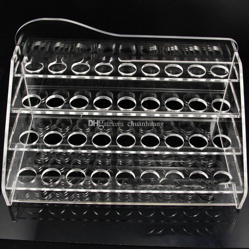 Acryl e cig display klar stehen regal halter rack für dampf ecig vaporizer stift elektronische zigarette e flüssigkeit flasche ego t batteriebehälter
