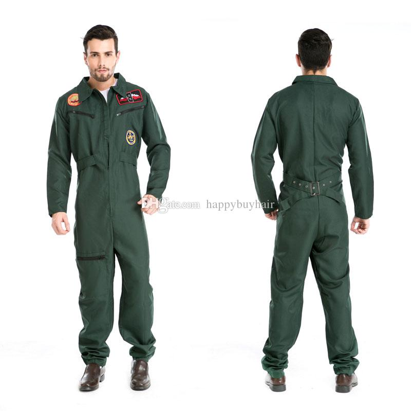Halloween Costumes Uniform Temptation Club Stage Performance Clothing Adult Mens Pilot Aviator Firefighter Costume Cosplay Clothing For Men Costumes For 5 ...  sc 1 st  DHgate.com & Halloween Costumes Uniform Temptation Club Stage Performance ...