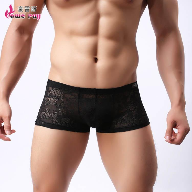 2019 See Through Boxers 2016 Spandex Solid Underwear Men Transparent Low  Waist Breathable Mesh Male Gay Underwear From Fashion361 95917148b