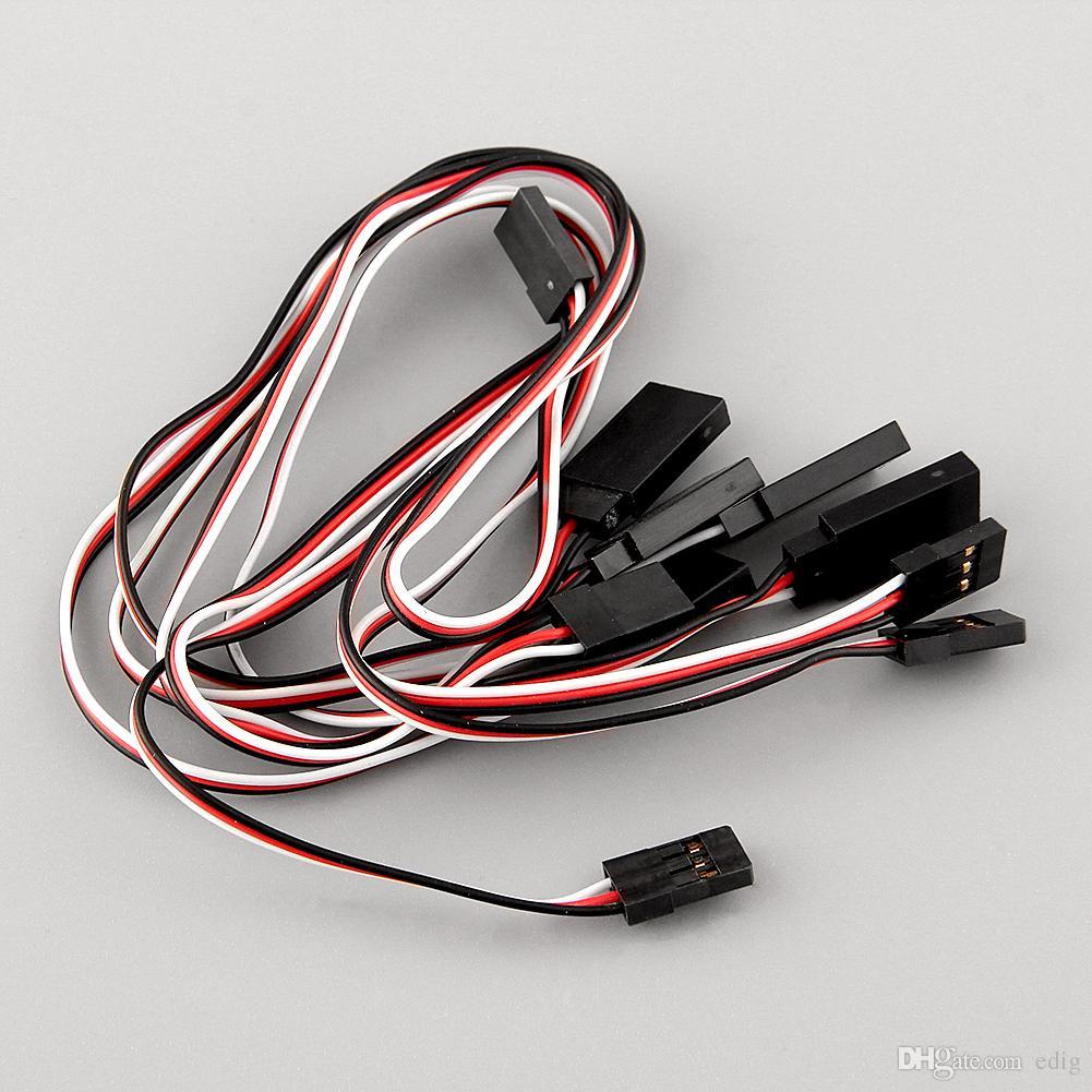 Servo ricevitore Y Cavo di prolunga Cavo di collegamento 300mm connettore JR IC
