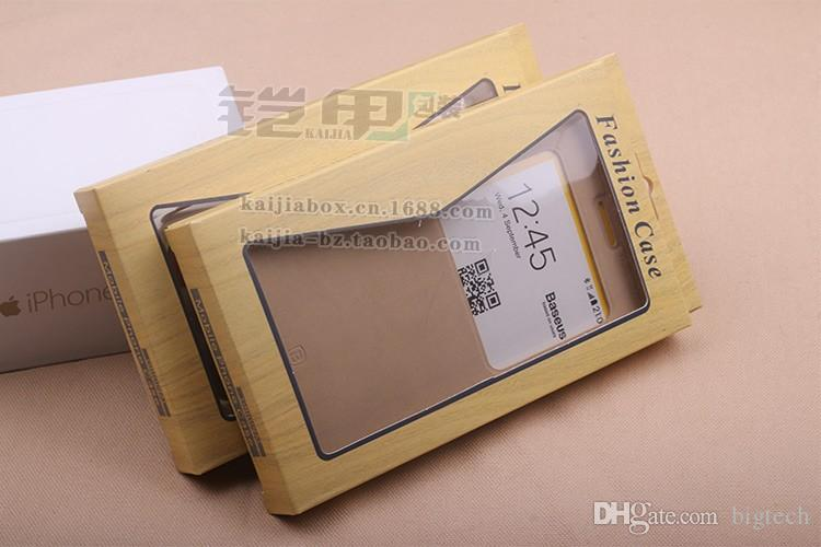Universal Paper Retail Package packing Box boxes with insert for phone case iPhone 5 5S 6 6s Samsung s5 s6