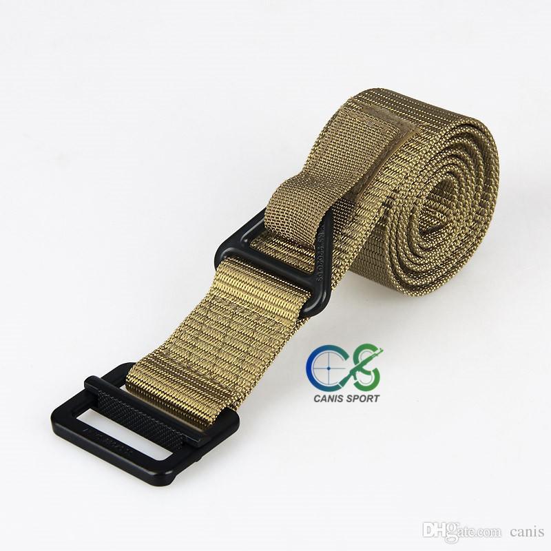 Cinture tattiche regolabili multiuso regolabili da uomo Cintura la sicurezza della cintura la caccia all'aperto Wargame CS Accessary CL11-0019