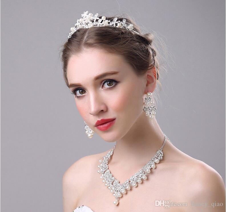 Stunning Bridal Wedding Tiara 2017 Hot Pin Hair