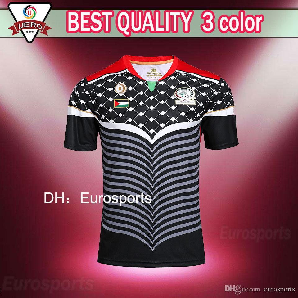 a787b129c 2016 2017 Best Quality NEW Palestinian Jersey Shirt 16 17 Football ...