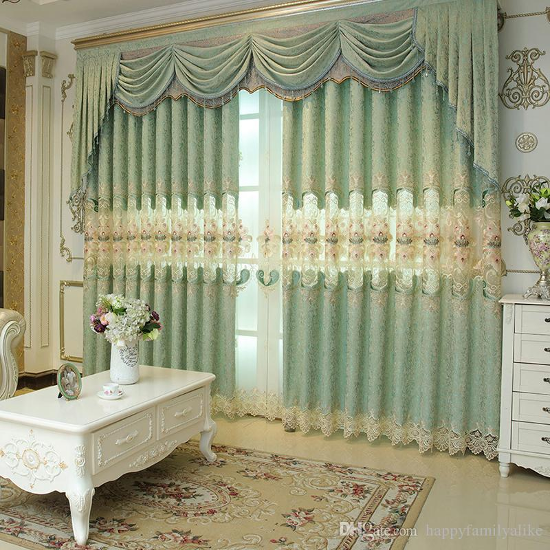 Western living room curtains
