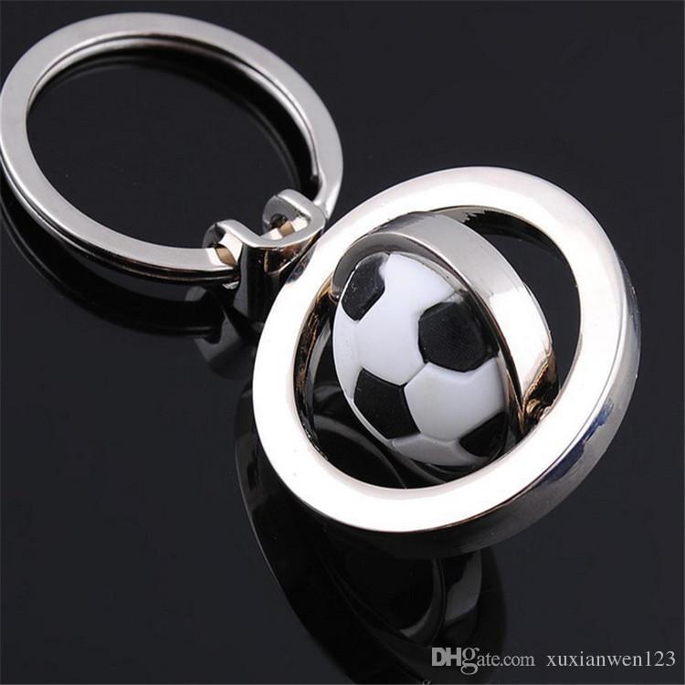 Football /golf/ basketball Keychain Classic Novelty Souvenir Metal Keychain Creative Gifts Key Ring Trinket for Men Women Accept LOGO