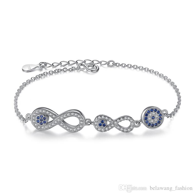 remix bracelet in infinity lyst white symbol swarovski collection jewelry
