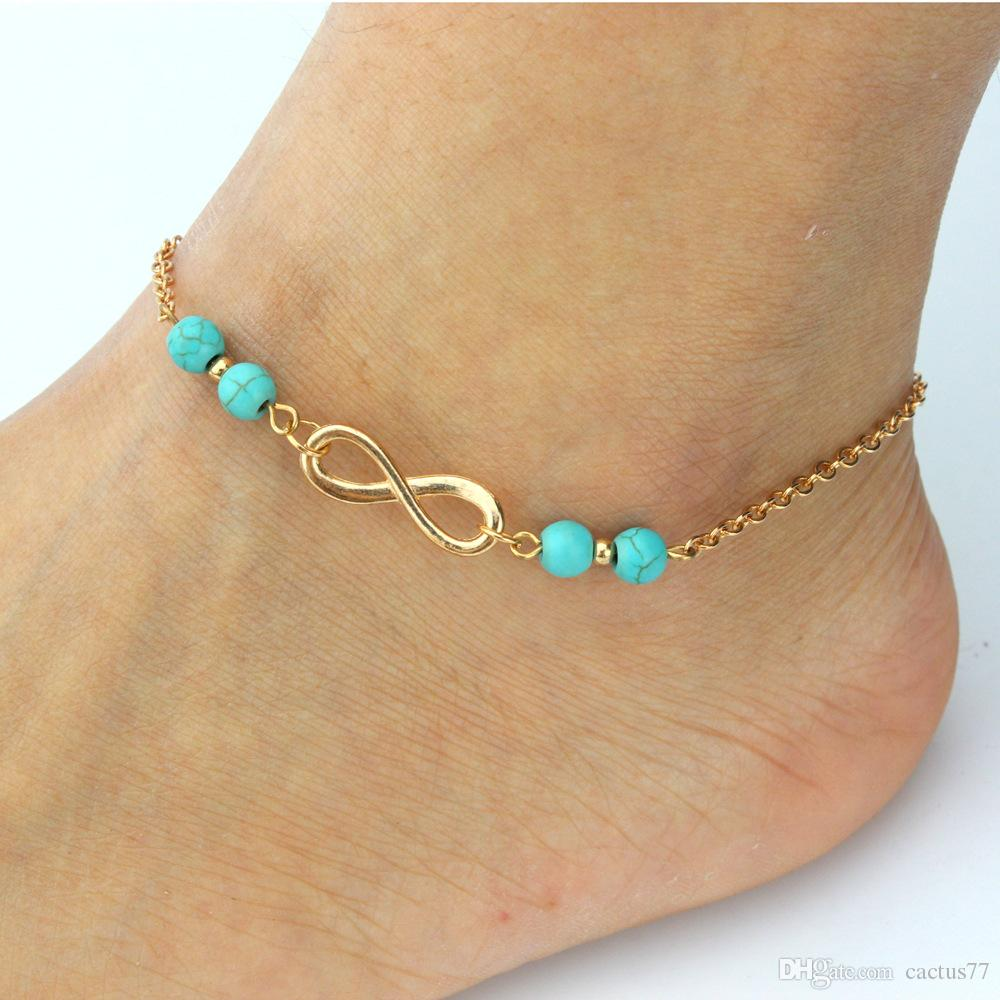 crowd verymicky with pinterest the best in barefoot set lexo female bracelet anklet cheville anklets from de on images