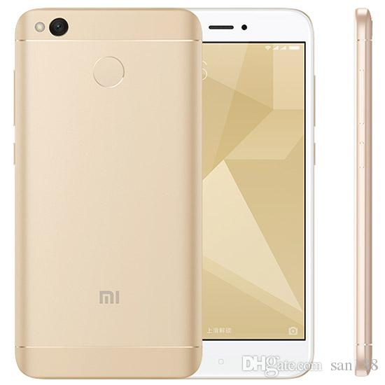 Octa core 4G network Ram 2/3GB Rom 16/32GB unlocked original xiaomi redmi 4X smart phone inch 5 cell phone Android with WIFI GPS