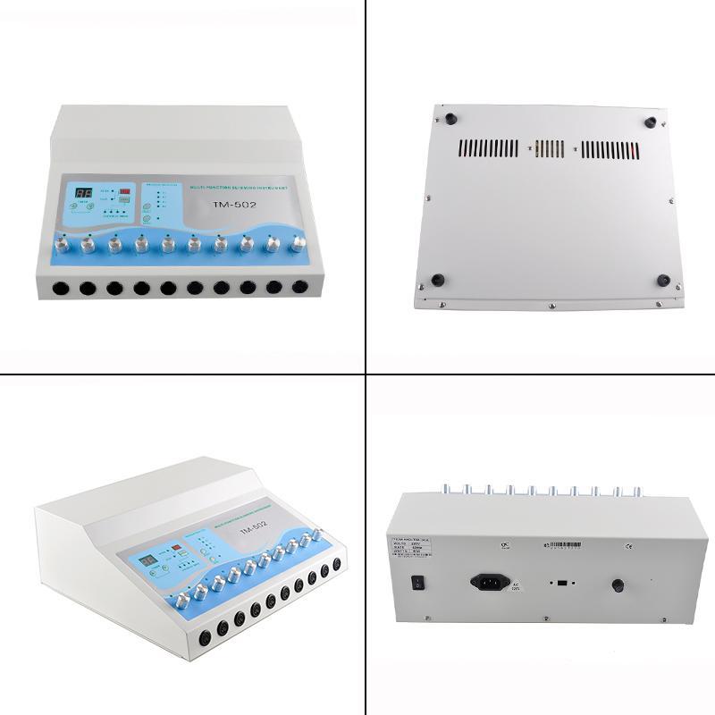 TM-502 슬리밍 기계 체중 감량 ems 근육 자극기 Electrostimulation 기계 러시아어 파도 ems 전기 근육 자극 0607011