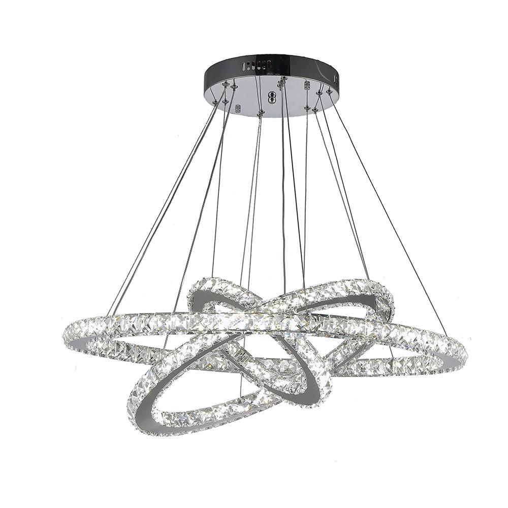 Vallkin Diy Led Pendant Light K9 Crystal Chandeliers Hanging Lamps ...