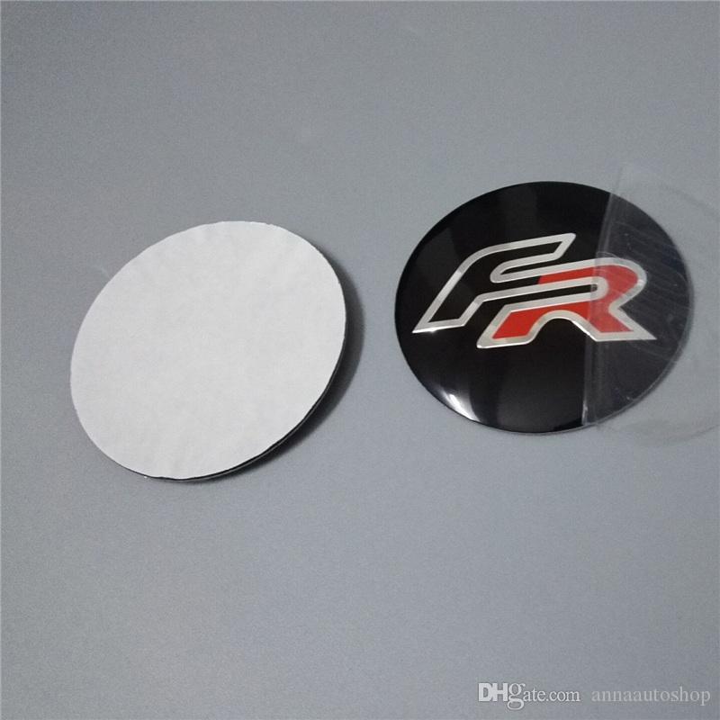 car accessories 56.5mm FOR FIAT Car Stickers Car Emblem Badge Sticker Wheel Hub Caps Centre Cover FR VRS OPEL LOGO