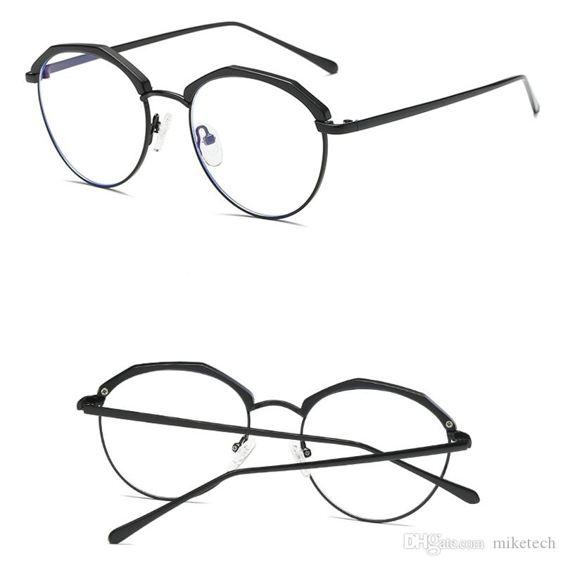 Anti Blue Ray Glasses Fashion Clear Eyeglass Computer Glass Reading Glasses Radiation-resistant Glasses Gaming Eyewear 1704