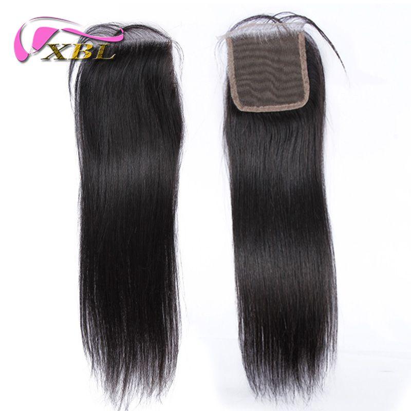 Human Hair Closure Virgin Brazilian Human Hair Top Lace Closure Buy Two Get One Free By XBL