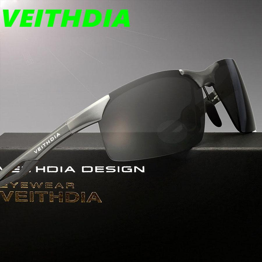 05b80e83c1 VEITHDIA 2017 Men Original Brand Polarized Sunglasses Driving ...