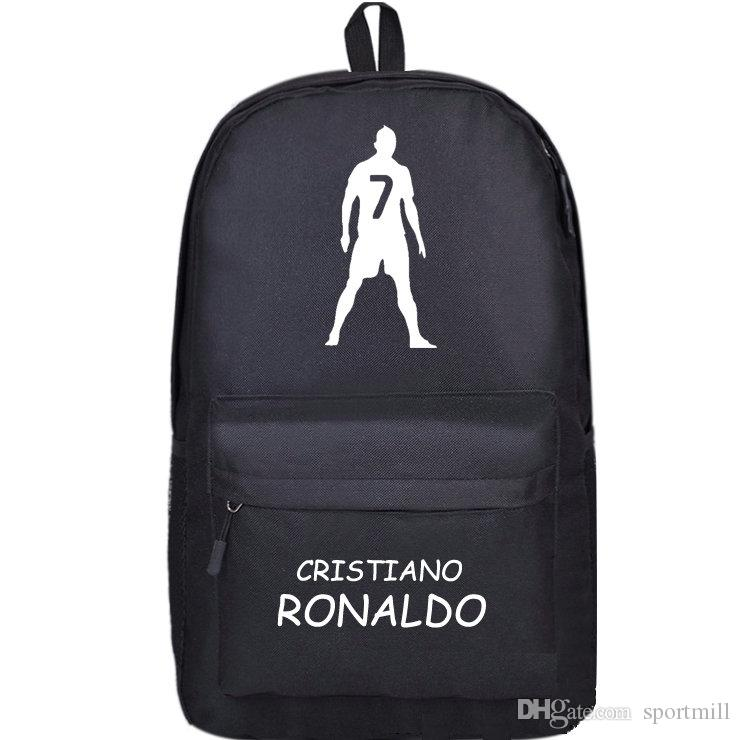2019 Cristiano Ronaldo Backpack Football Star School Bag Soccer Cr7 Day  Pack Super Player Rucksack Sport Schoolbag C 7 Daypack From Sportmill af7acba83b839