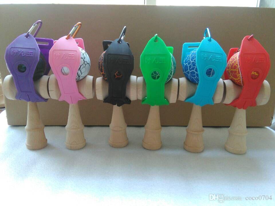 Kendama держатель с quickdraw подходит для 18,5 см Kendama японский традиционная деревянная игрушка игры DHL