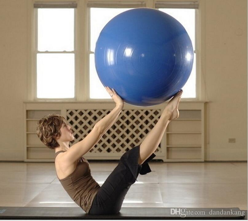 Yoga fitness erercise Ball Thick Explosion Proof Massage Balls Bouncing Ball Gymnastic pilates workout Balls 45/55/65CM Wholesale