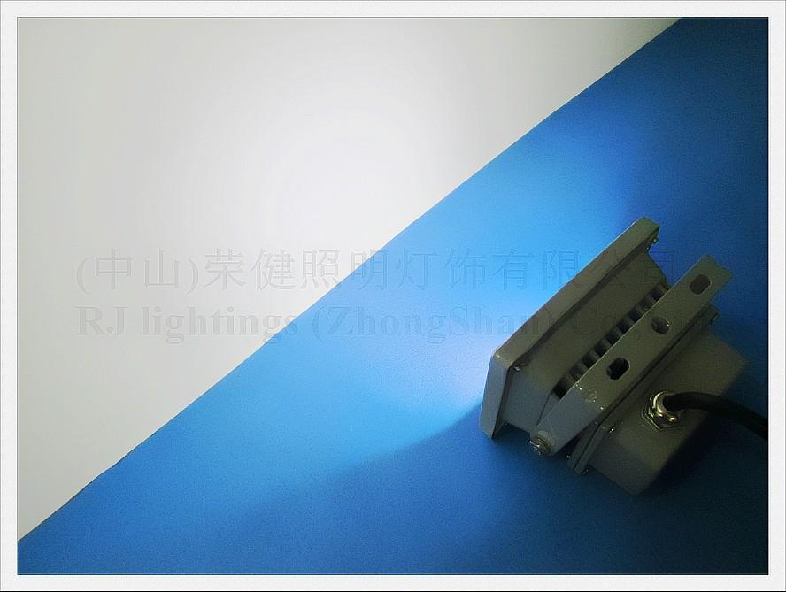 alta potência COB inundação lâmpada LED luz 10W levou holofote ao ar livre paisagem luz transporte livre de alumínio 10W AC85-265V IP65 CE
