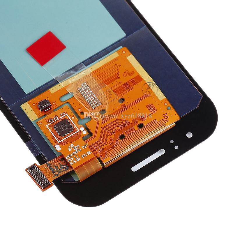 Para samsung galaxy j1 ace j110 j110f j110m display lcd tela de toque do painel de vidro digitador azul branco ouro peças de reposição