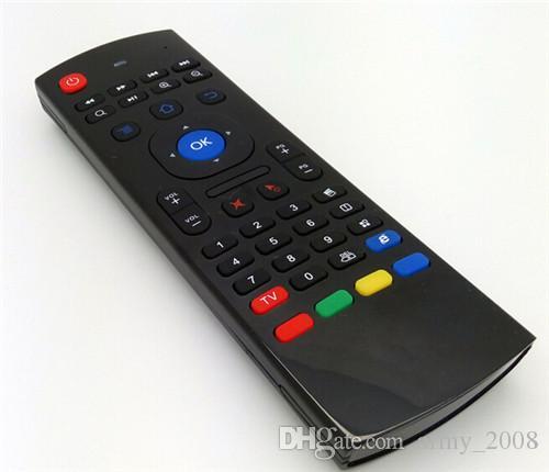 X8 Mini Clavier 2.4GHz Télécommande Sans Fil MX3 Somatosensoriel IR Apprentissage 6 Axes sans Mic 3D Air Fly Souris pour Android TV Box
