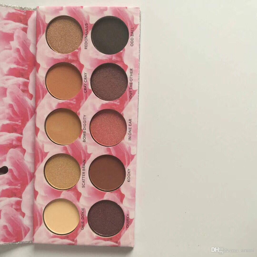 New Makeup Ombretto Laura Lee Los Angeles Cat Pigment Eyeshadow Palette Shimmer Eyes Spedizione DHL