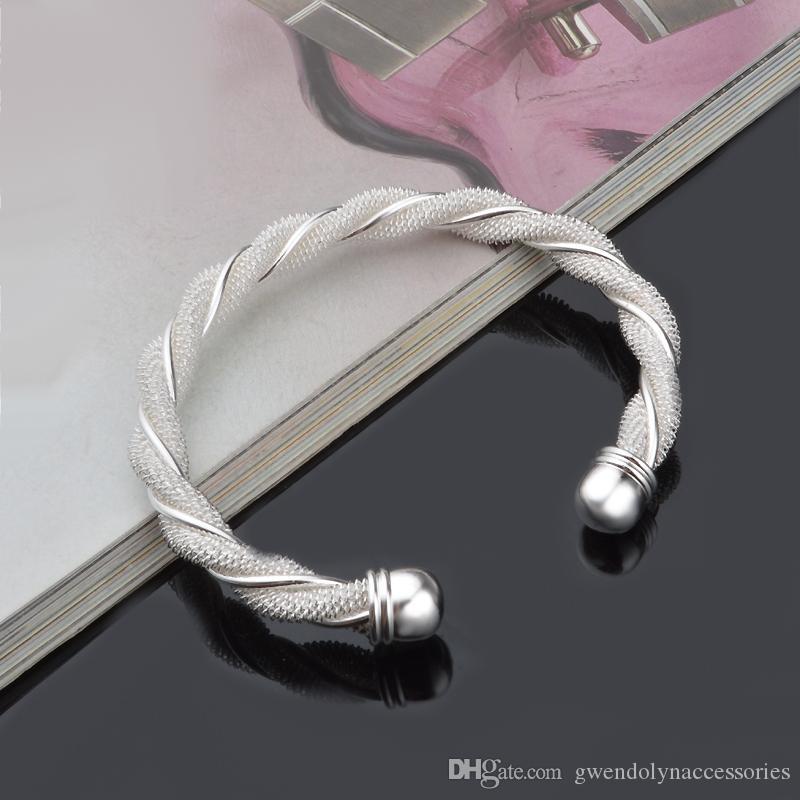 манжеты браслет модные аксессуары оптом производить изысканное мастерство MS посеребренные браслет браслет