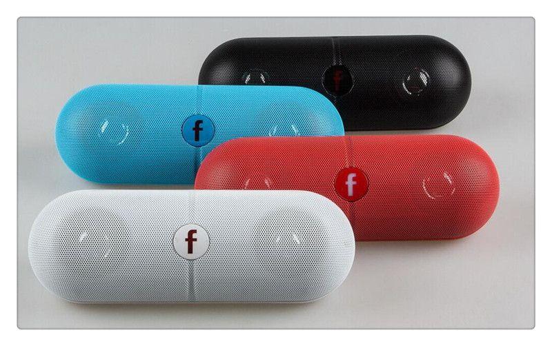 Pill XL Bluetooth Mini Speaker Protable Wireless Stereo Music Sound Box Audio Super Bass U Disk TF Slot With Handle DHL Free Shopping