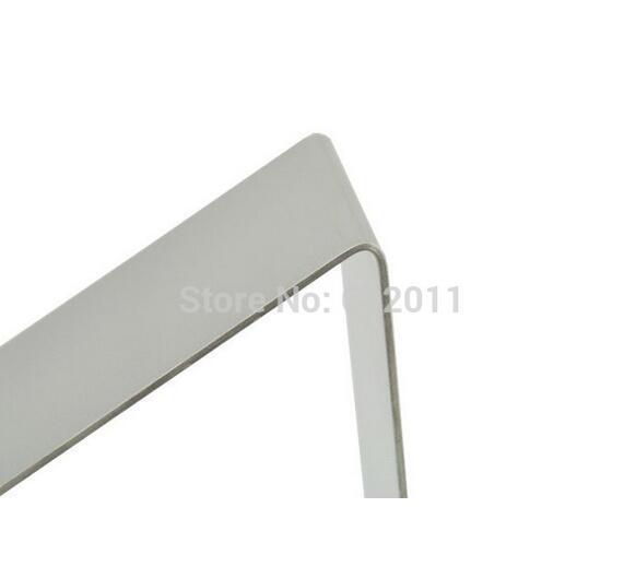 Superfície fosca de aço inoxidável shoes holder suporte keeper sapato de metal mostrando rack de exibição stand