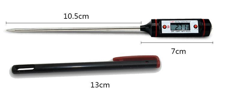 WT-1 الغذاء ميزان الحرارة الرقمي المرسام القلم إبرة التحقيق نوع الإلكترونية مطبخ الحرارة متر الشواء السائل النفط الحرارة
