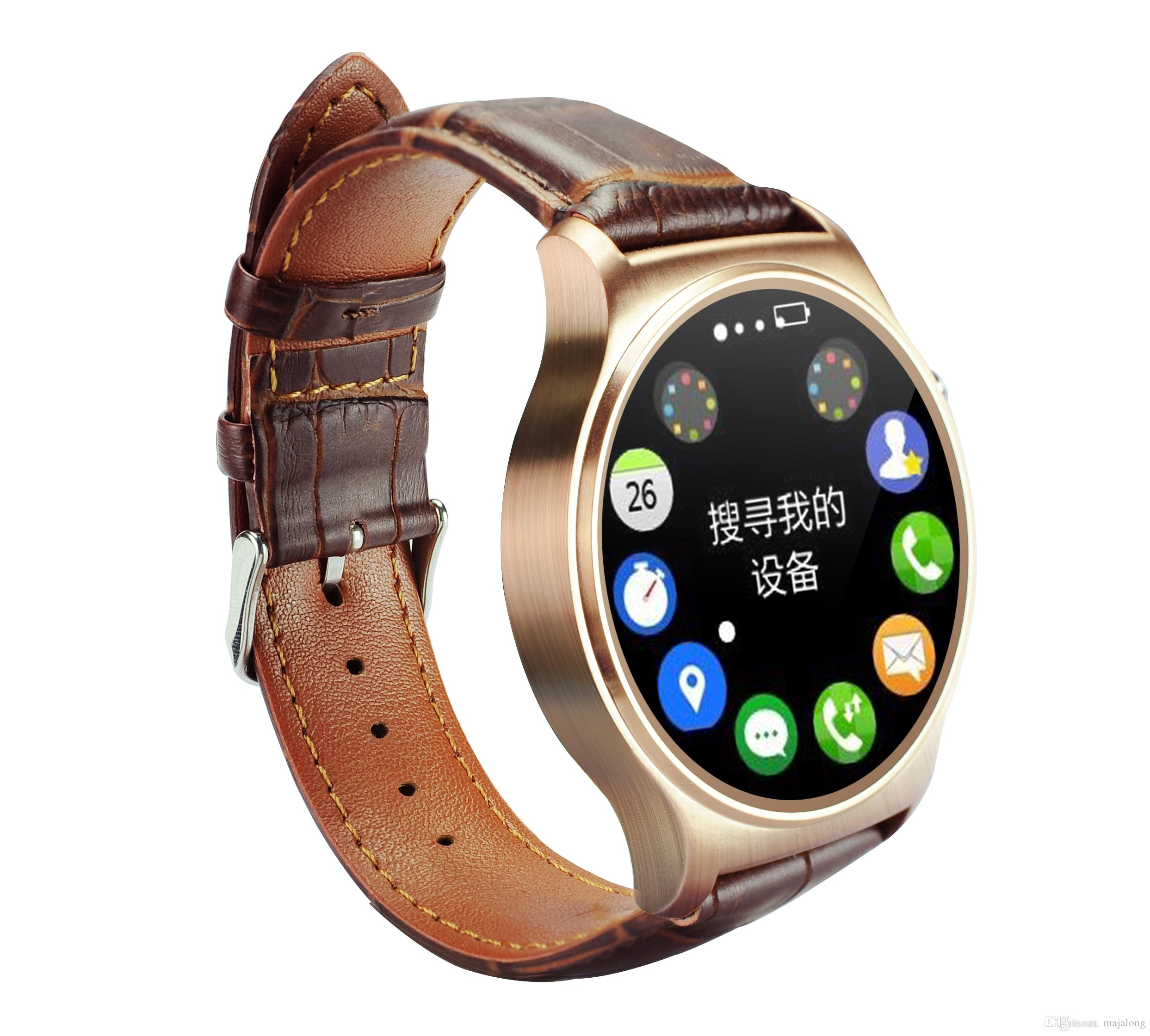 heart bluetooth round health phone smart watches with classic smartwatch android metal products iso clock for iphone rate monitor